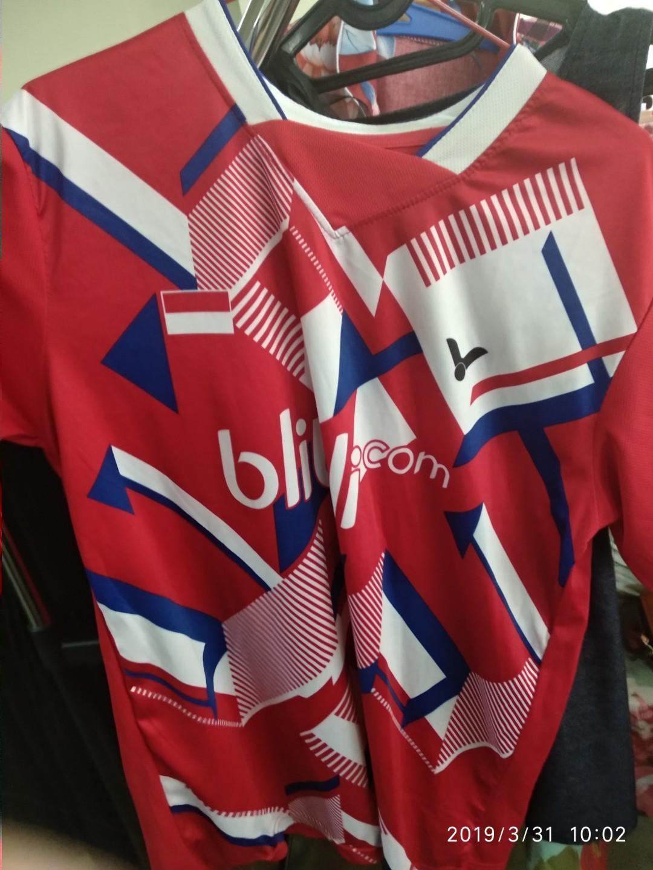 #badminton jersey victor xl