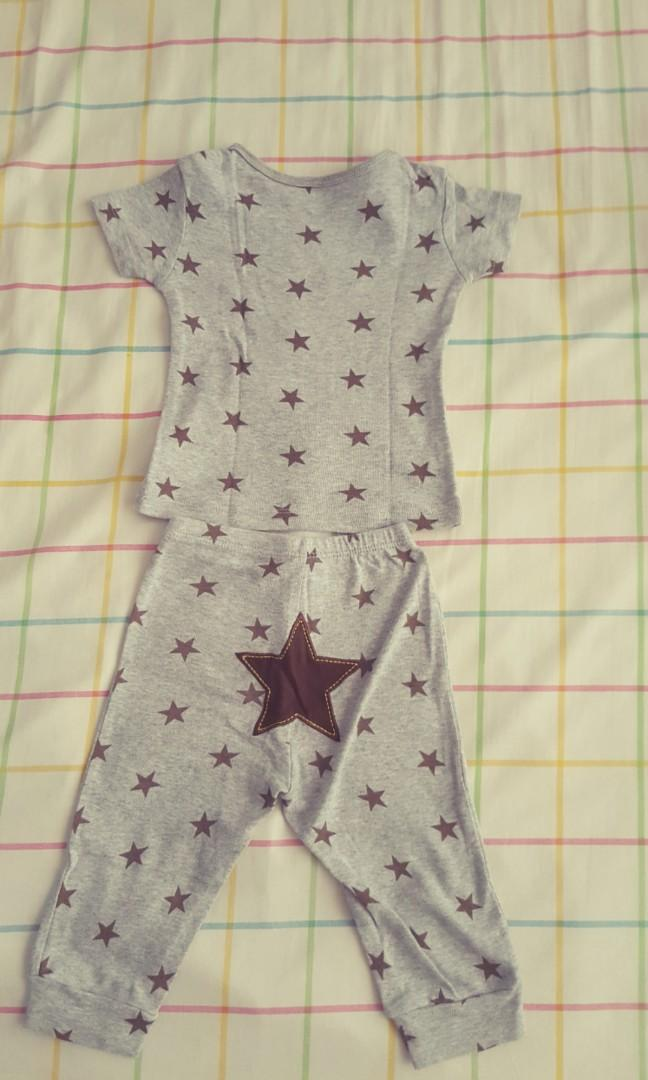 Bodysuits  Brown Star