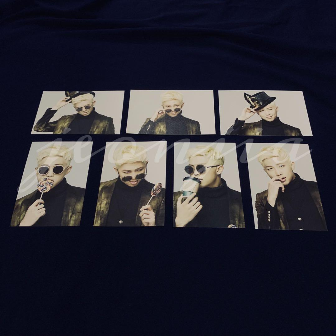 BTS RM EPILOGUE OFFICIAL MINI PHOTOCARD SET