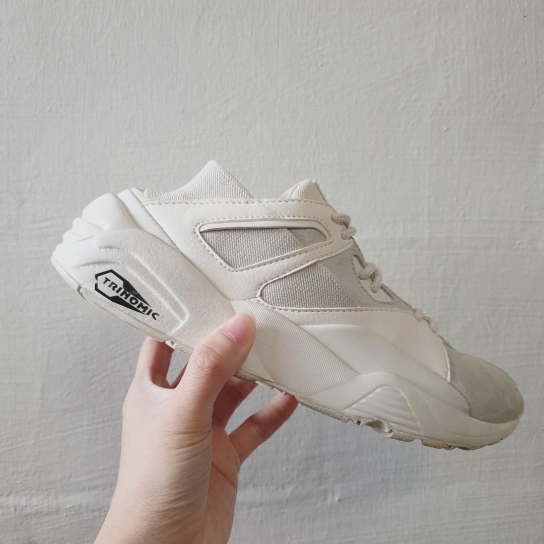 save off 55695 3cf99 BTS x Puma Bog Sock (All White), Women's Fashion, Shoes ...