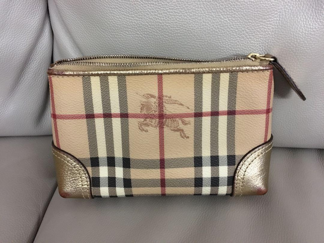 Burberry clutch/cosmetic bag