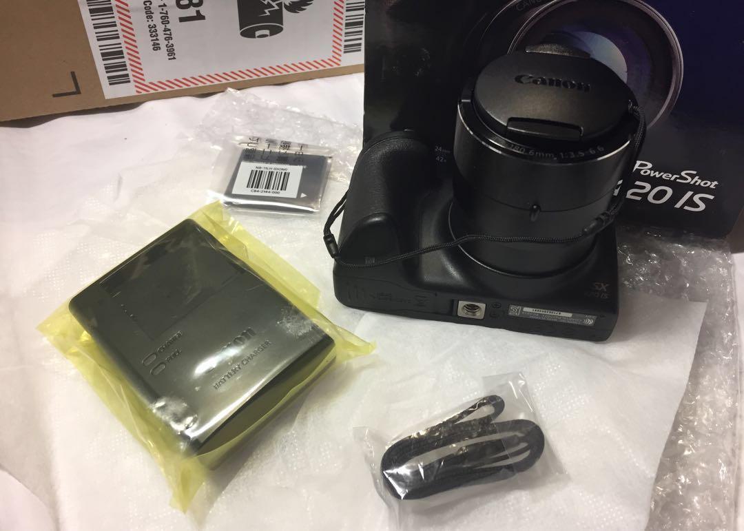 Canon PowerShot SX420 (Black)