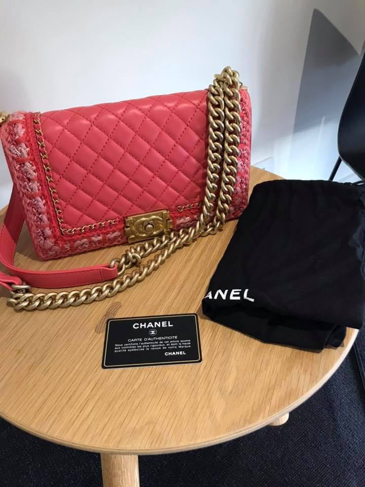 4c165cf3bb5b Chanel boy, Luxury, Bags & Wallets on Carousell