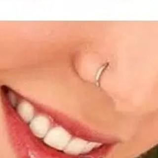 Cincin Tanpa Tindik Hidung Model Hoop