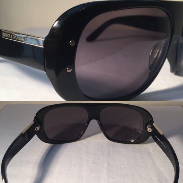 Dolce & Gabbana D&G Sunglasses DG 4002 Made in ITALY 60[]14