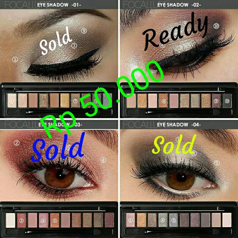 Eyeshadow pallet