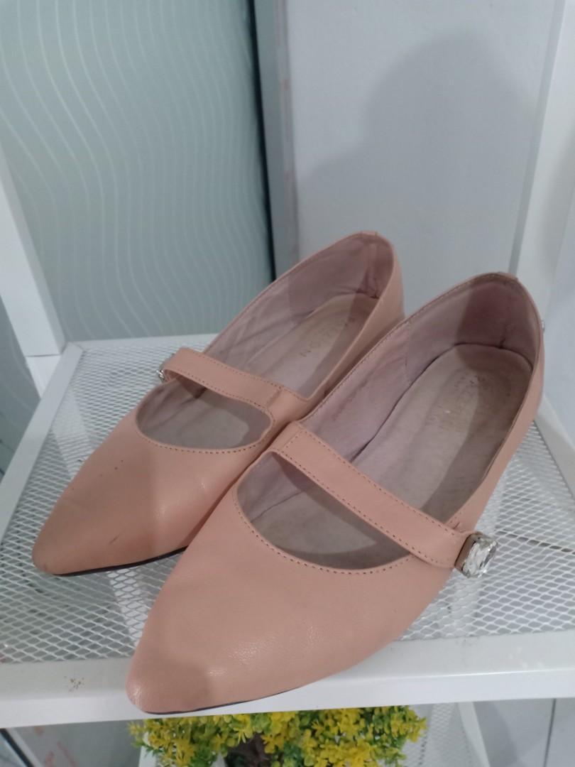 Flat shoes kulit