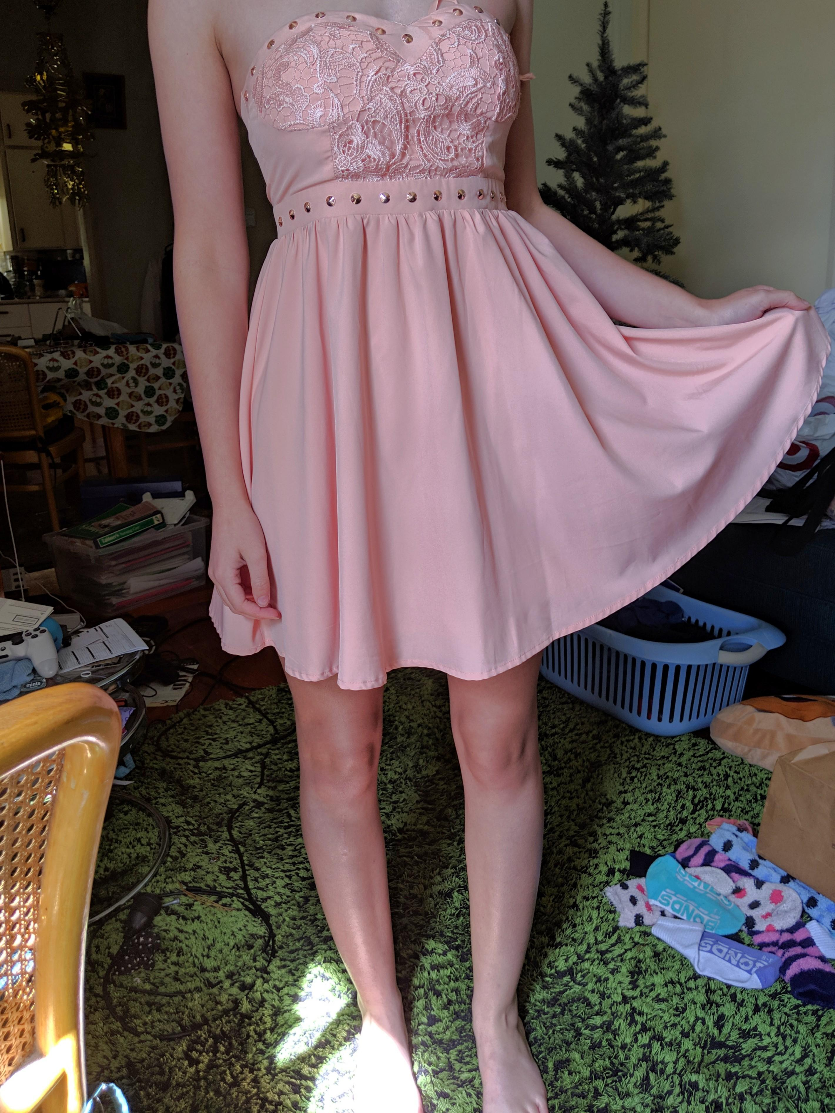 Formal Dress - short and pink