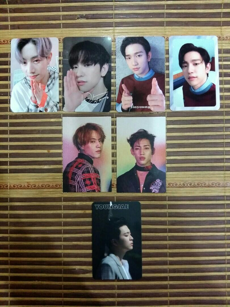 GOT7 Official Photocards [Present You, Eyes On You, 7 For 7]