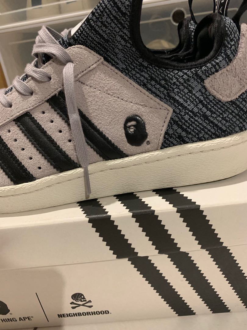 b5adece5ff300  Grail  Adidas Bape x Neighborhood Superstar Boost