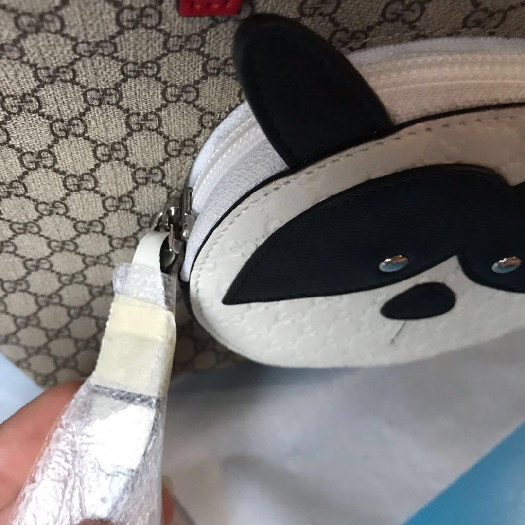 dff88de2434 Gucci Kids Raccoon tote bag