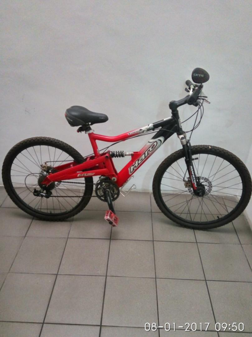 Haro full suspension Mountain Bike, Bicycles & PMDs