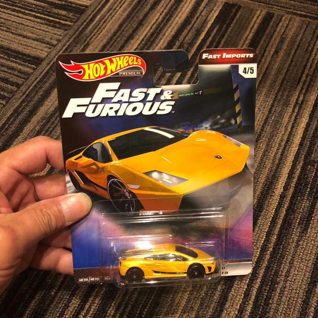 Hot Wheels Fast Furious Lamborghini Gallardo Toys Games Others