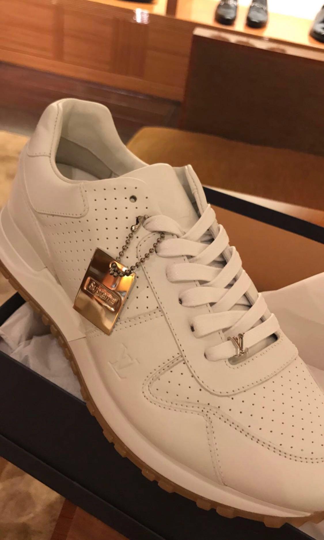 3bf2eb6740b11 🔥HOT🔥SUPREMEx Louis Vuitton Low Top Sneakers, Women's Fashion ...