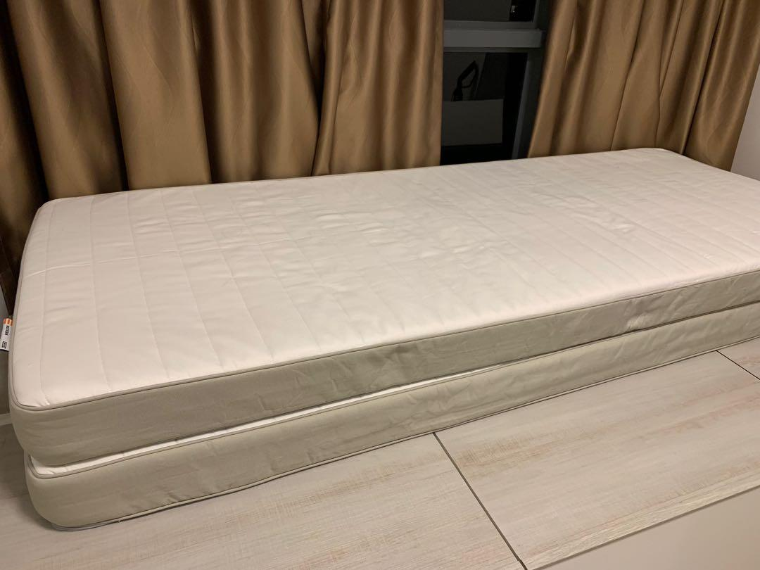 best website 169f4 5a3ef Ikea Husvika sprung mattress, firm, 80*200cm, Furniture ...