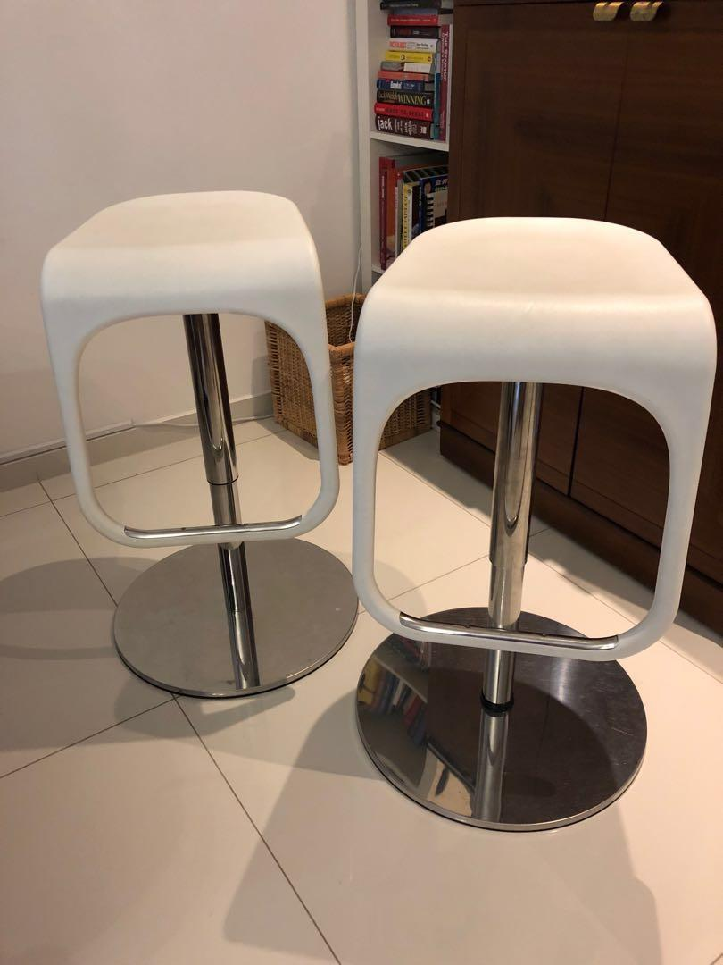 Remarkable Ikea Urban Bar Stool White Furniture Tables Chairs On Pabps2019 Chair Design Images Pabps2019Com