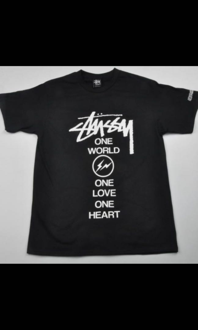 e6db4ce596f7 [INSTOCK] Stussy x Fragment Design T-Shirt, Men's Fashion, Clothes, Tops on  Carousell