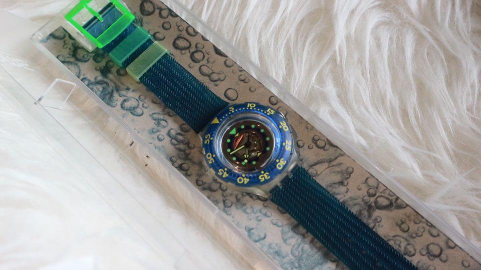 Jam Tangan Swatch scuba