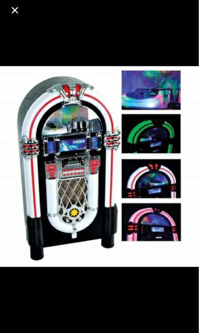 Jukebox - can play cd , Bluetooth and has led