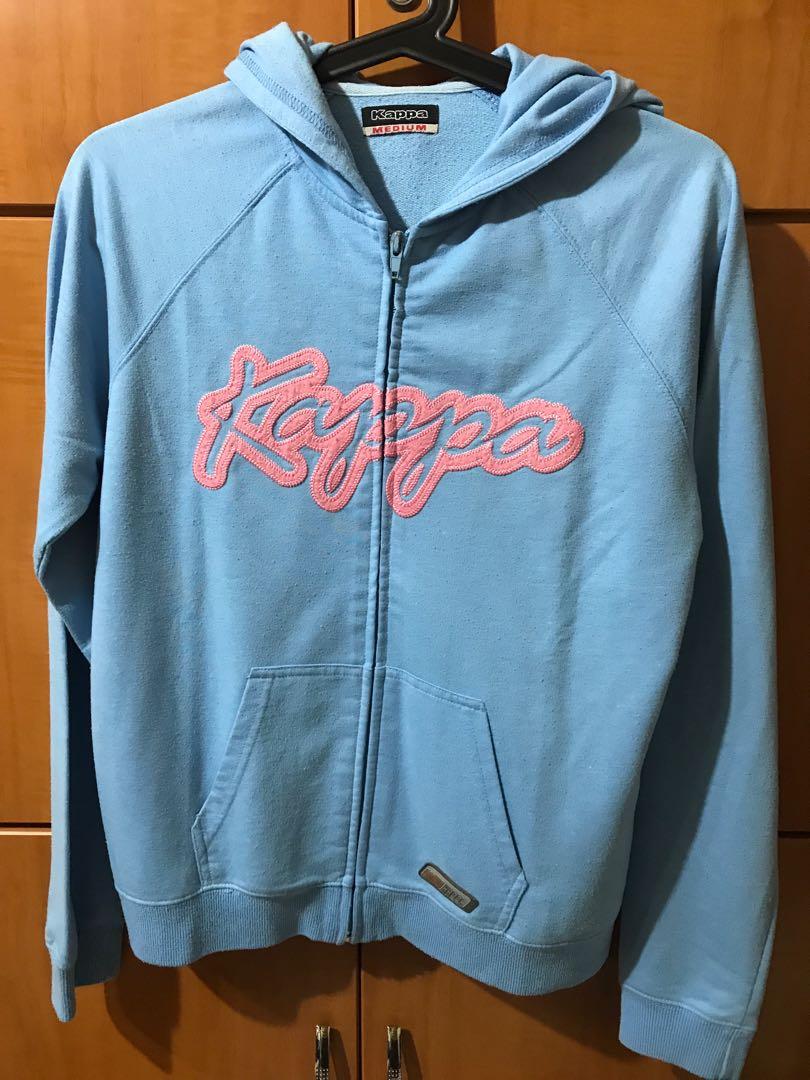 f2408984 Kappa Authentic Baby Blue Hoodie Jacket