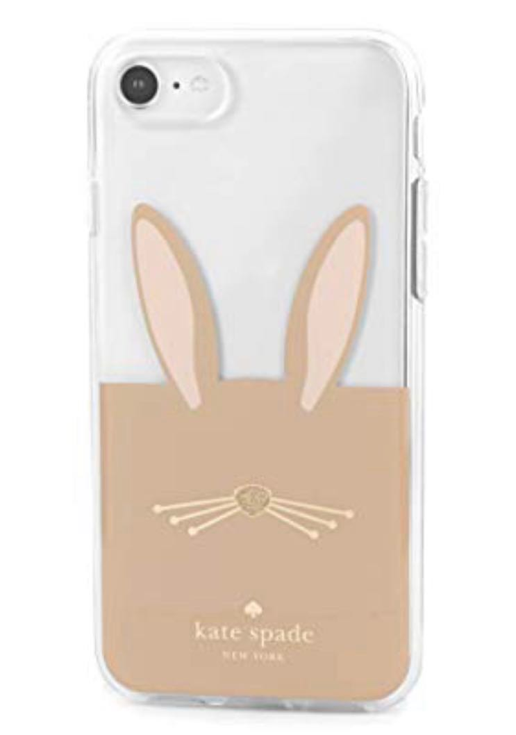 on sale 9a771 5a66f Kate Spade Bunny IPhone 8 case