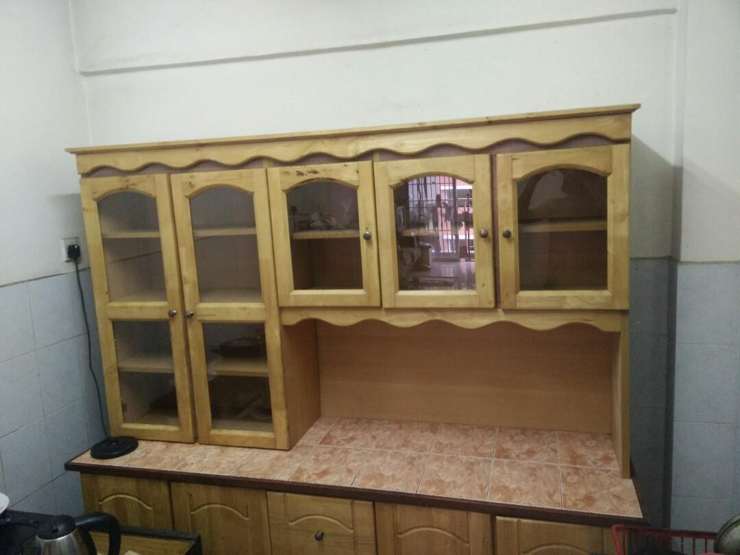 Kitchen Cabinet Kabinet Dapur Home Furniture Others On Carousell