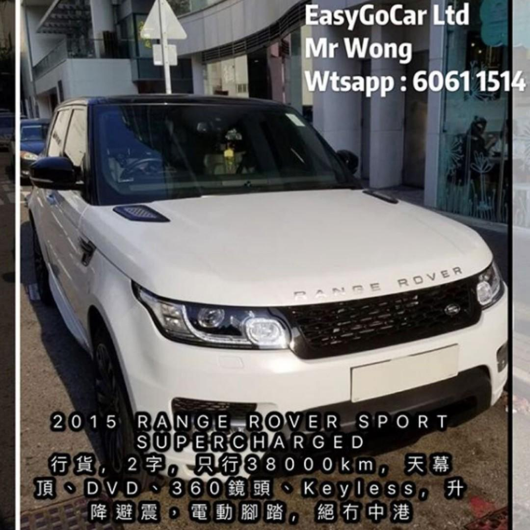 2015 range rover sport supercharged