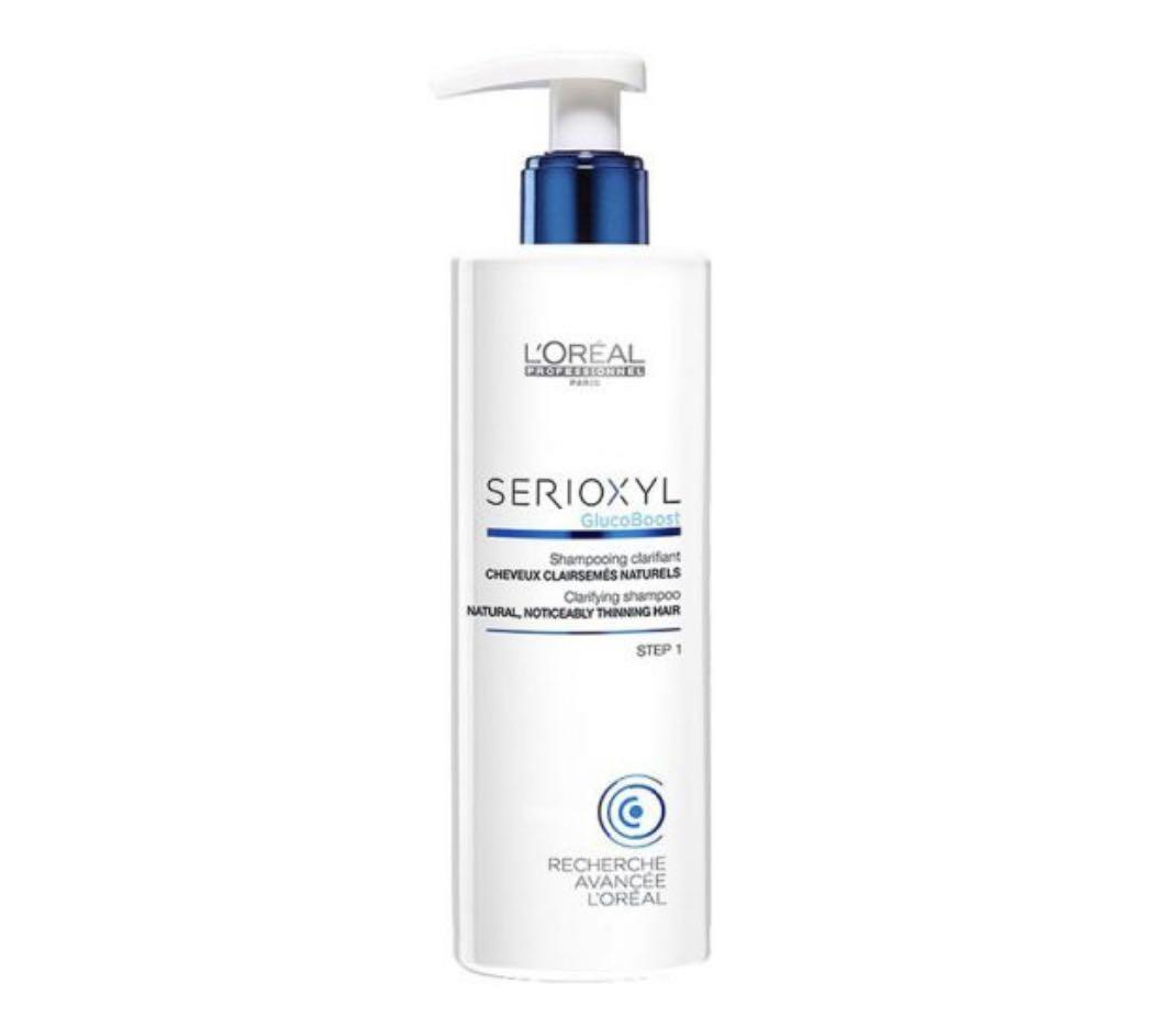 "L'Oreal Professionnel Serioxyl Glucoboost Shampoo For Natural Hair ""1"" 250 ml"