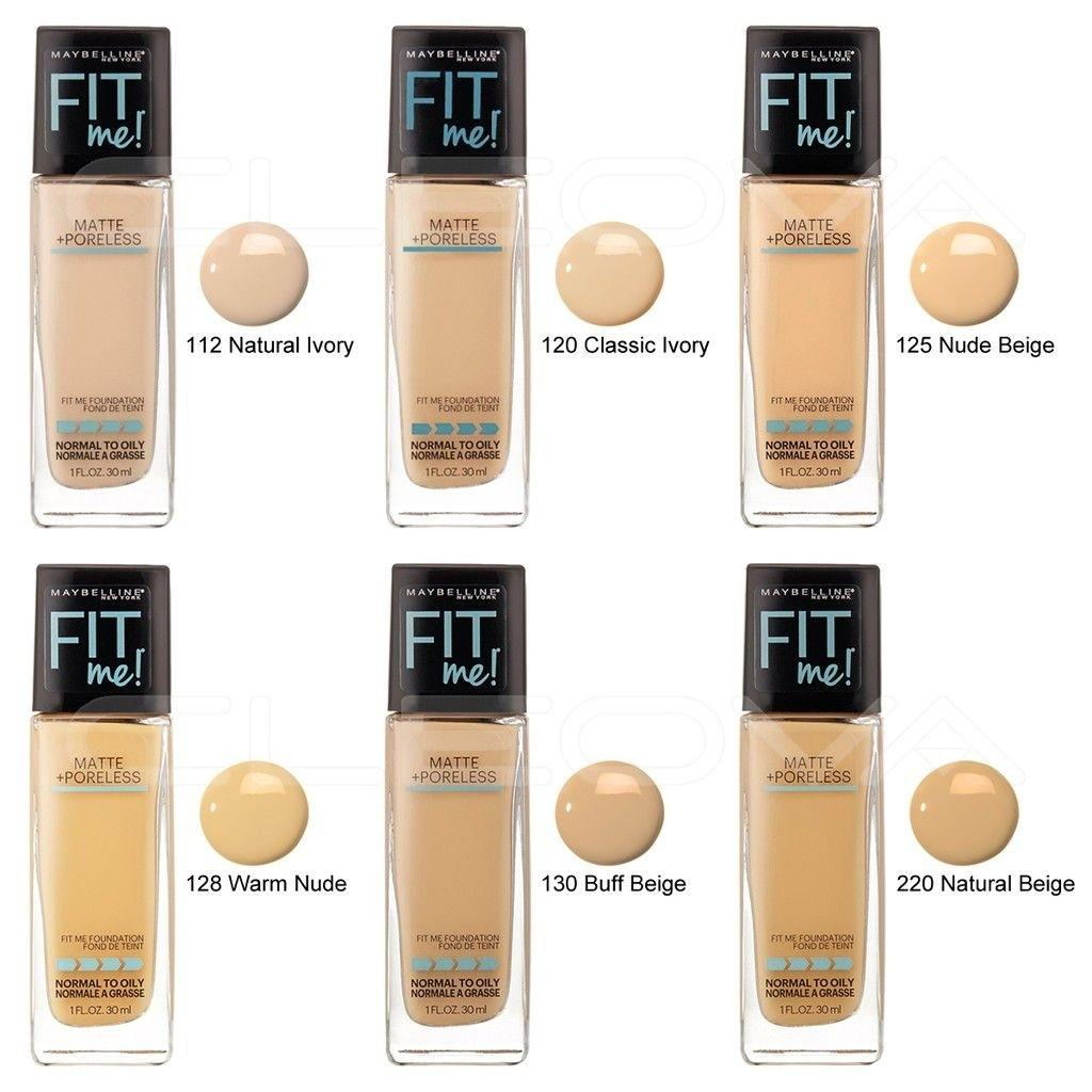 Maybelline Fit Me Foundation Health Beauty Makeup On Carousell