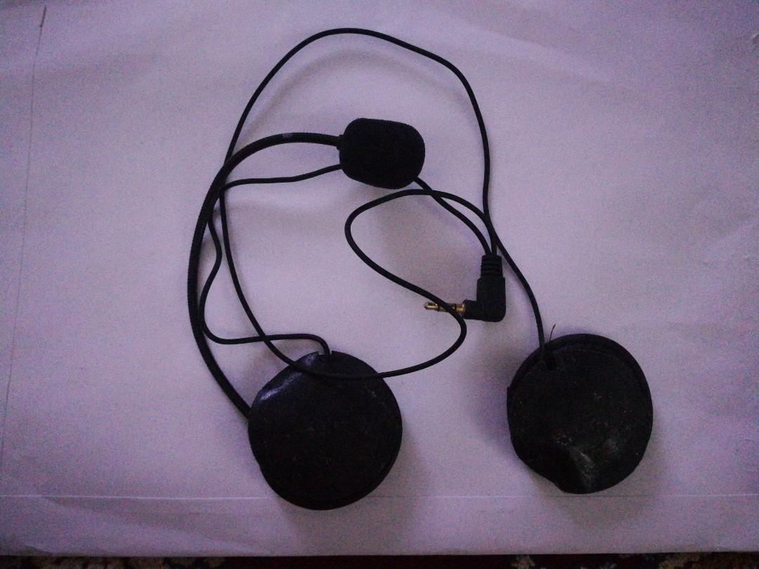 Microphone and Headset For Helmet