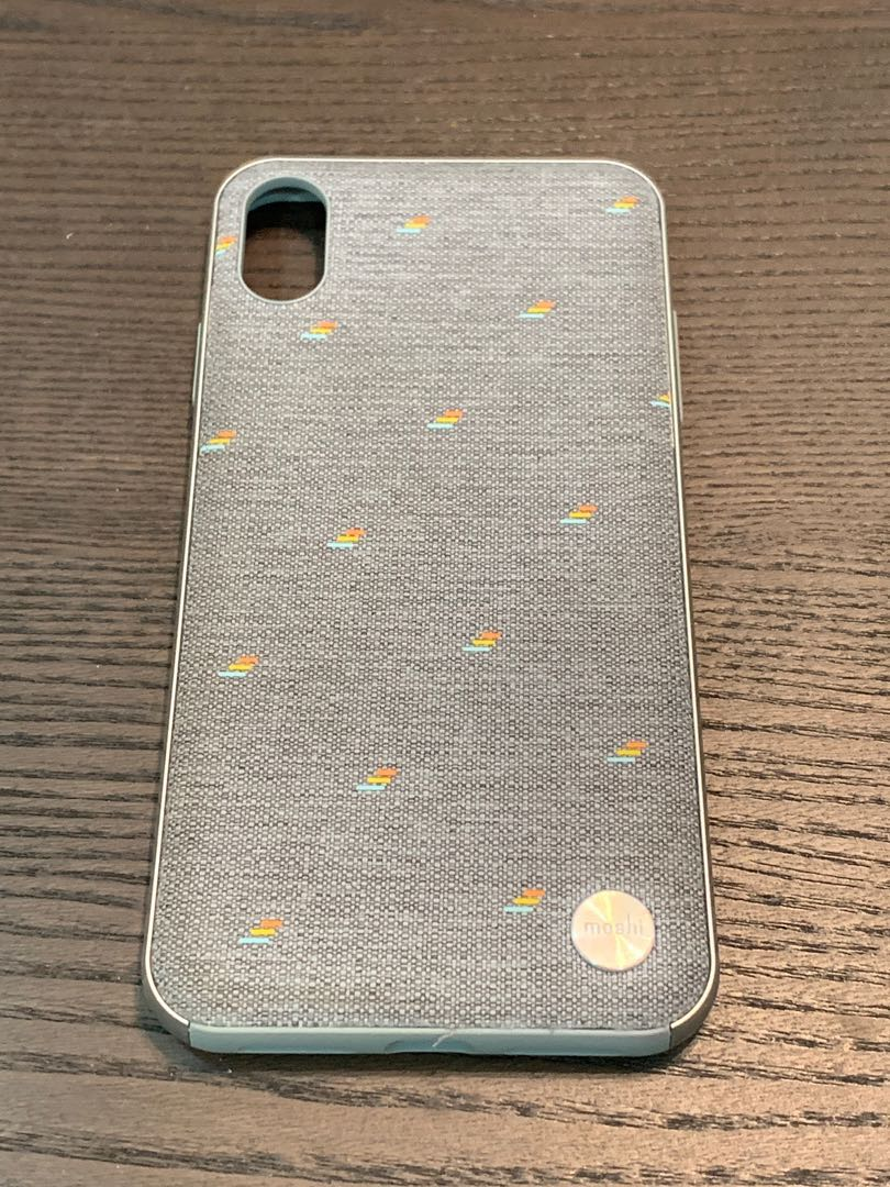 premium selection a457c a6142 Moshi Vesta for iPhone XS Max - Pebble Gray