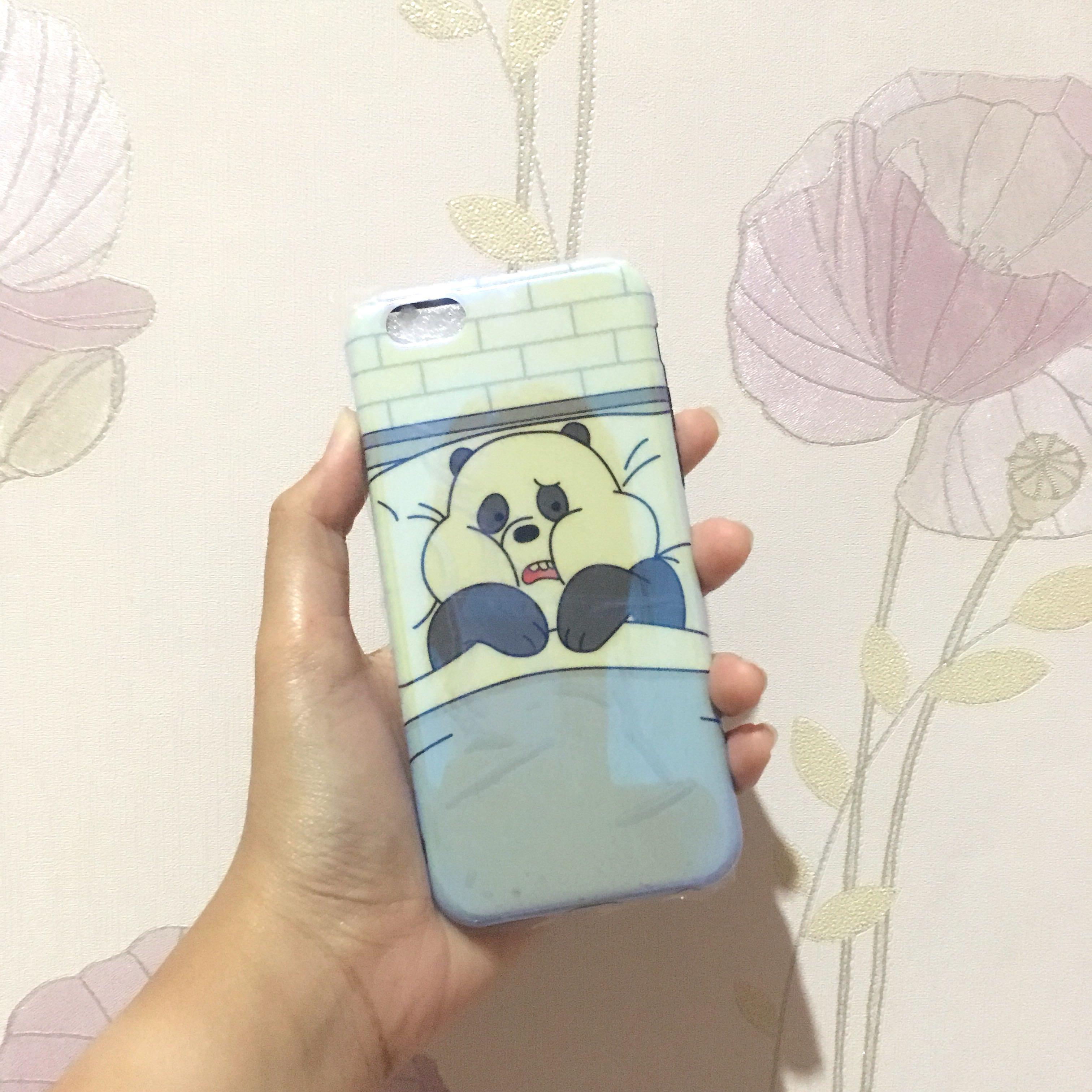 NEW iphone 6 6s case we bare bears bluray