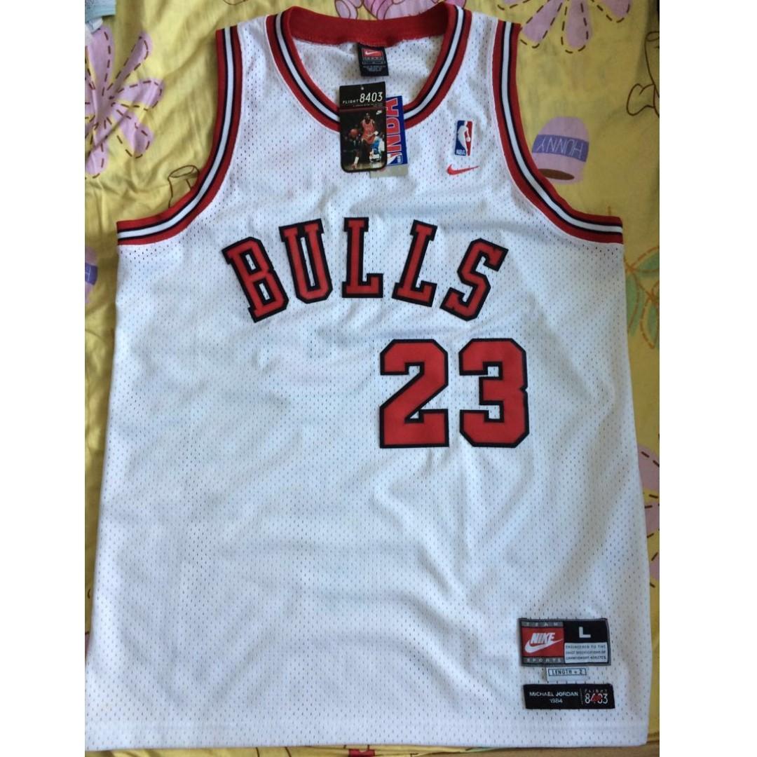 the best attitude e3920 56a46 Nike Michael Jordan 8403 Chicago Bulls Retro Collection No.23 Swingman  Jersey