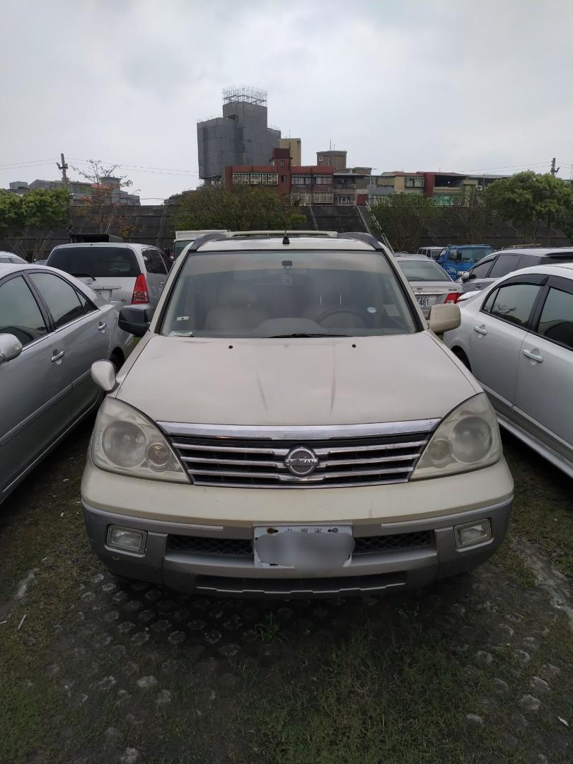 Nissan。2003年份。X-Trail  2.5排氣  20幾萬里程