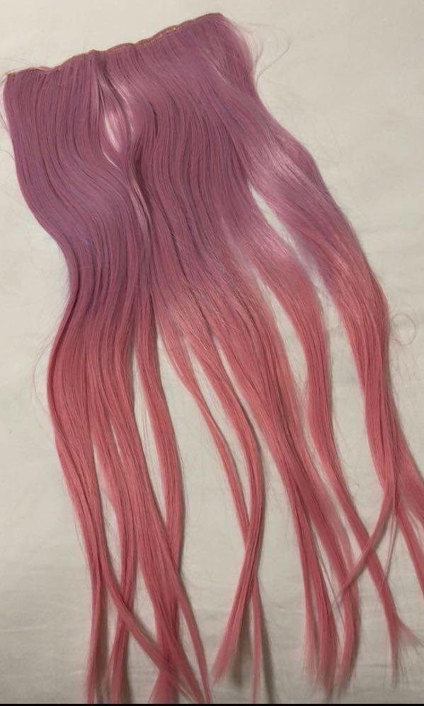 Ombre Pink Hair Extension Women S Fashion Accessories