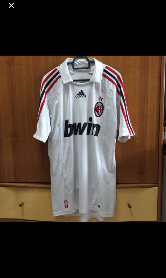 dad34b83755 Original AC Milan Soccer Jersey, Men's Fashion, Clothes, Tops on Carousell