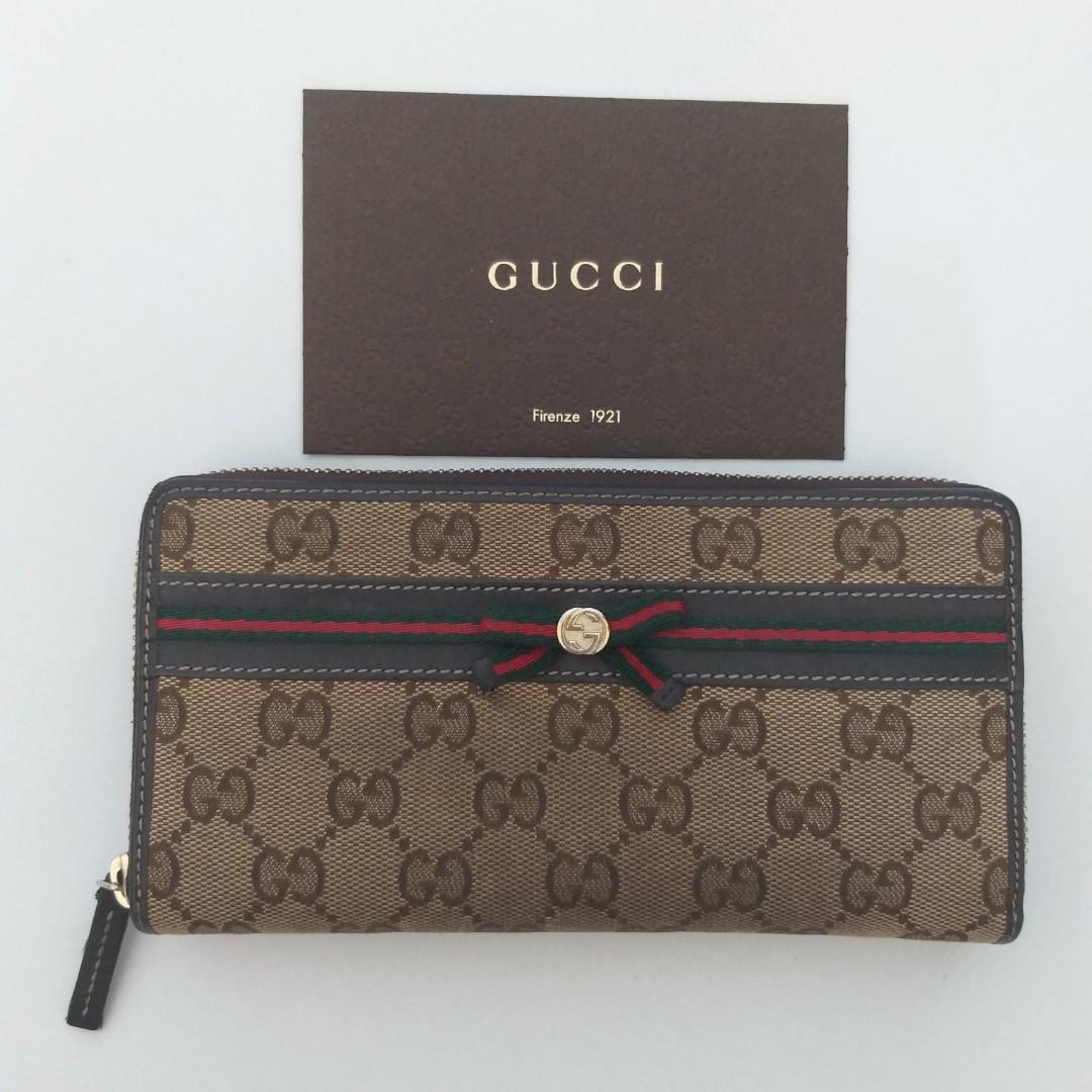 Original Dompet Gucci Ladies Long Wallet