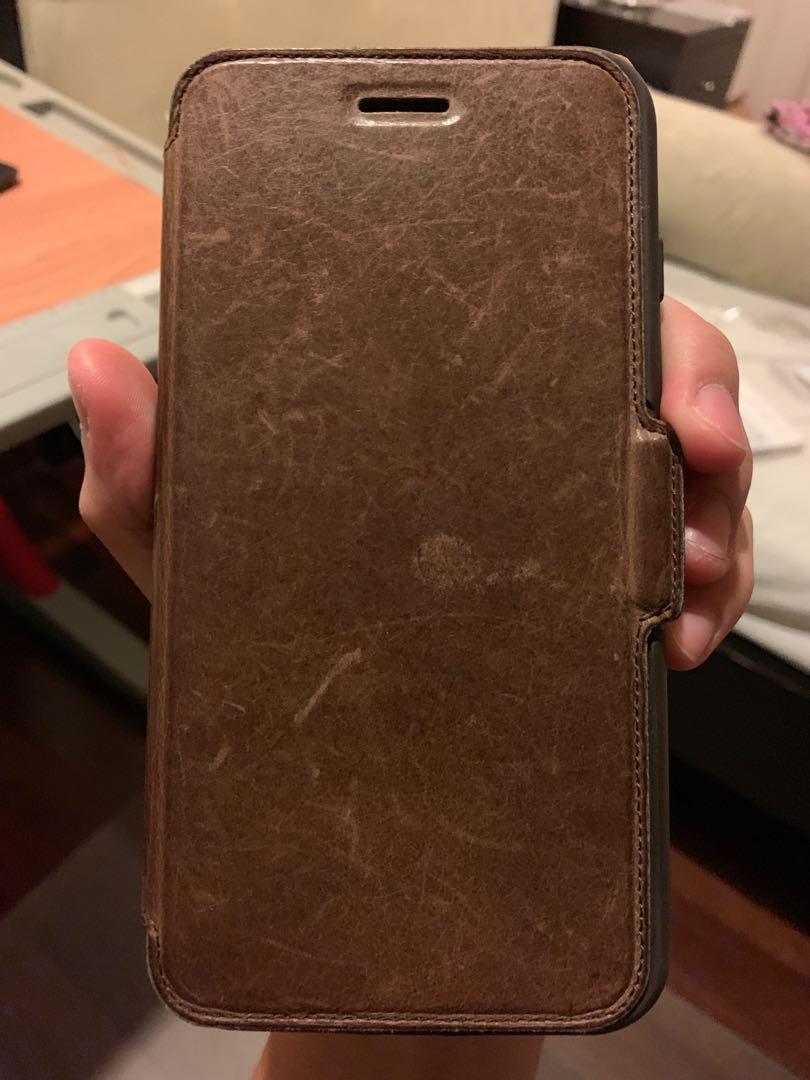 pretty nice e234a 22c2d Otterbox Iphone 7 Plus Leather Folio Case