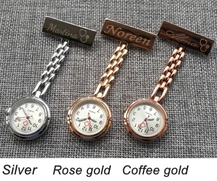 PO Cheapest Hot Selling Cuztomized Nurses Watch For Corporate Gifts