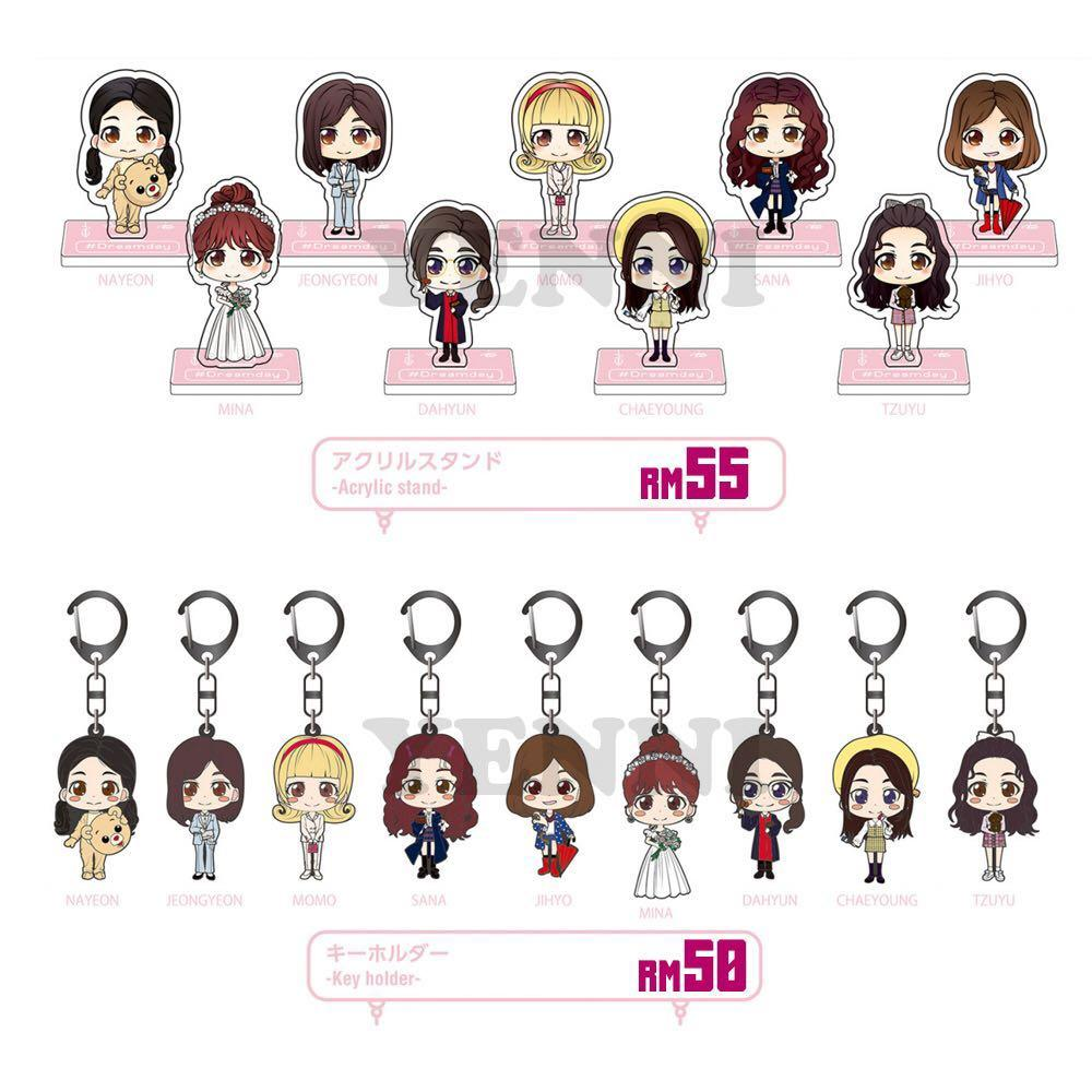 [PREORDER] TWICE Dream Day Dome Tour Acrylic Stand and Key Holder