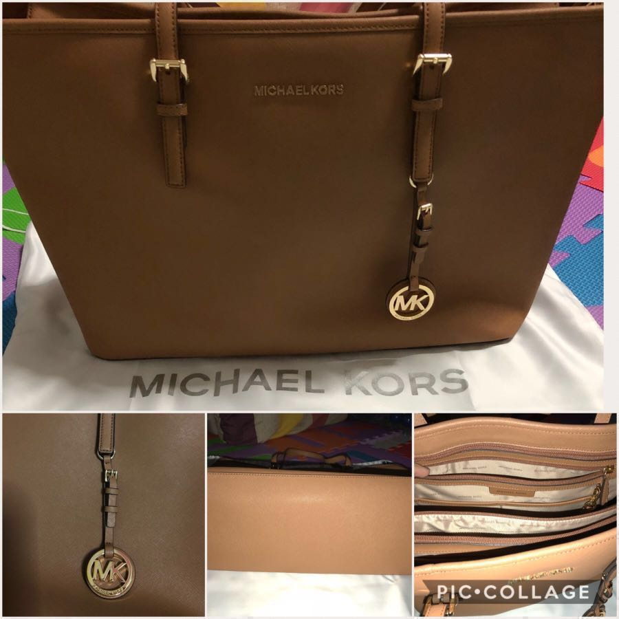 1e970e97ec96 REPRICED! Michael Kors Jet Set Travel Tote