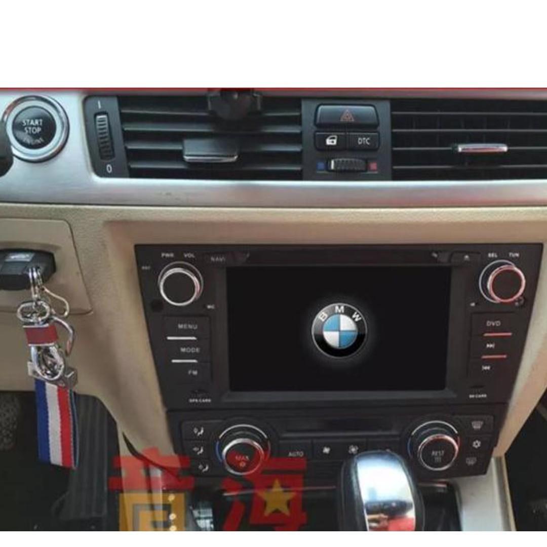 Retrofit BMW E90 / E91 / E92 / E93 in-car andriod system