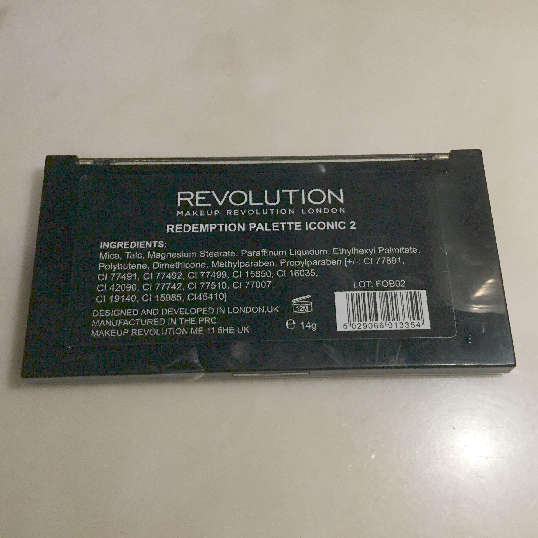 全新英國Revolution 眼影Palette