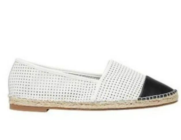 Seed Heritage Ava Leather Women's Espadrille - size 38