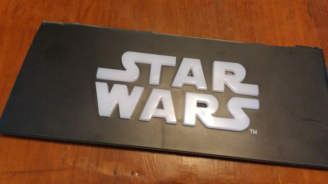 Star Wars 凸字灯牌,包括12V Dc火牛
