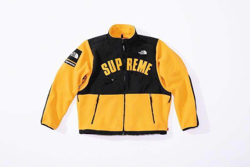 fd41b8137 Supreme The North Face Arc Logo Denali Fleece Jacket, Men's Fashion ...