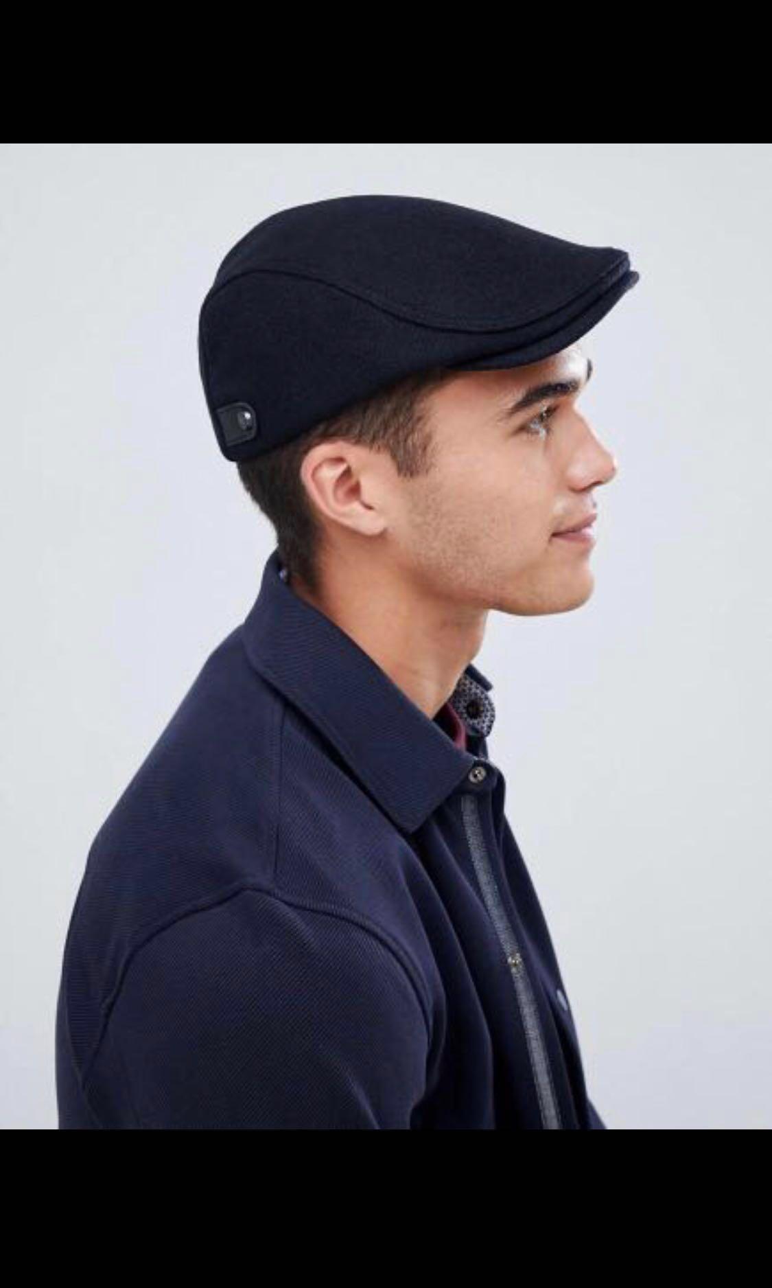 cae33928a3f853 Ted Baker English Twill Flat Cap, Men's Fashion, Accessories, Caps ...