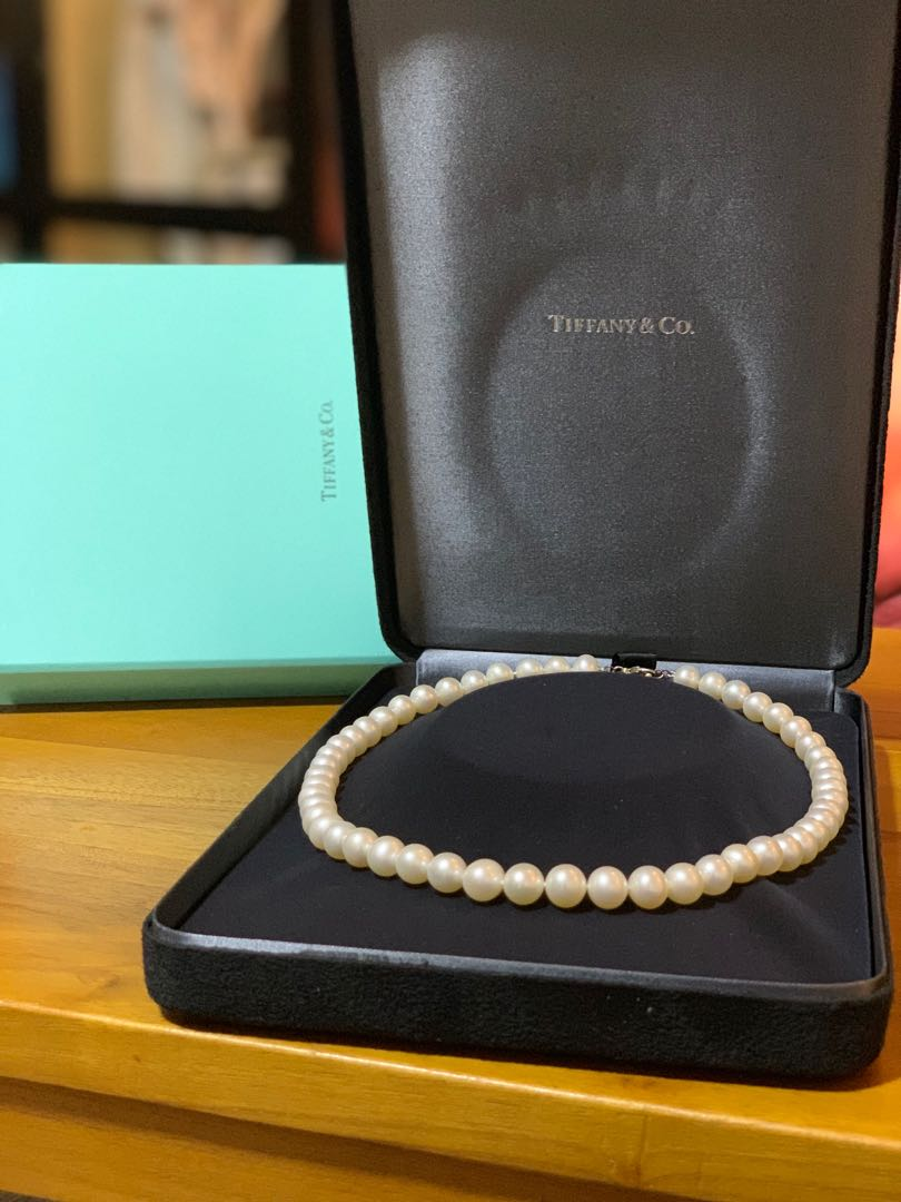 429c67f9b Tiffany & Co Classic Pearl Necklace, Luxury, Accessories, Others on ...