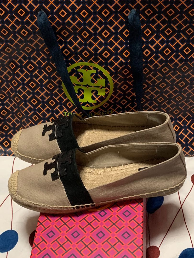 c407c067e Tory Burch Espadrille Canvas, Women's Fashion, Shoes, Flats ...