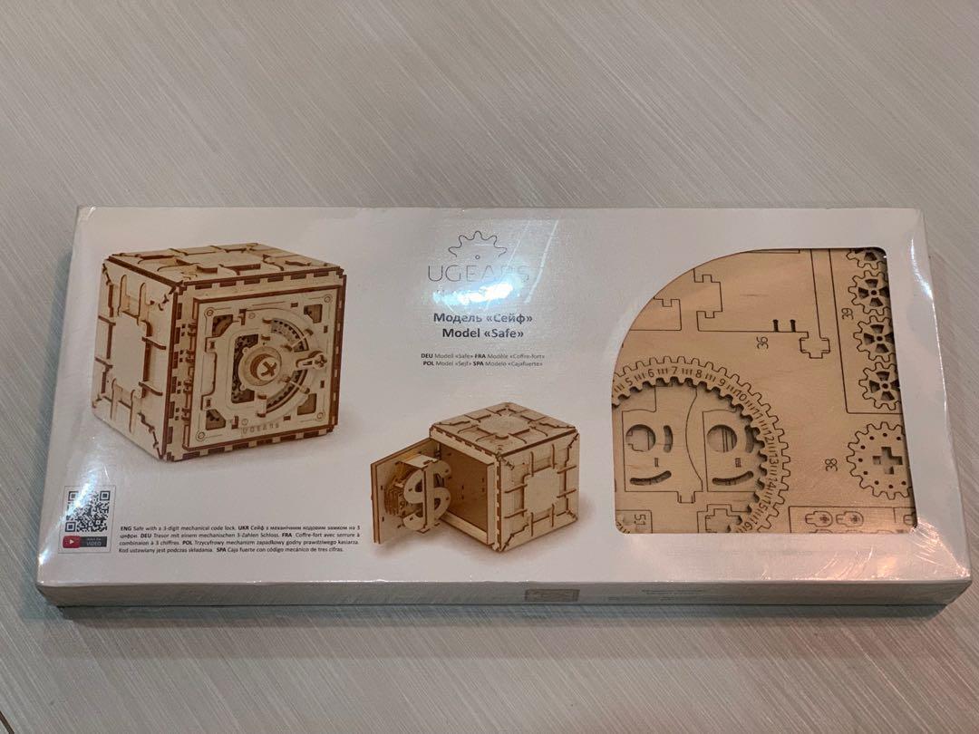 Ugears Safe Wooden Mechanical 3d Puzzle
